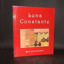 c2005 Cretu LENA CONSTANTE 1st Edn ROMANIAN ARTIST Biography ILLUSTRATED