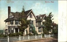 Sharon MA Lawn Crest c1910 Postcard