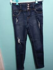 Almost Famous Juniors Size 7 Distressed Skinny Jeans