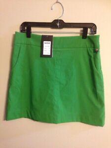 NWT MDC Women's size 40 8 Green Skort Golf Leisure $159 228650