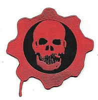 Gears of War Logo (Gaming) Embroidered Patch -new