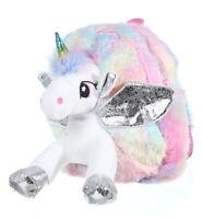 Kids Unicorn Backpack Doll Rucksack Back To School Handbag Outdoor Bag Girl Chic