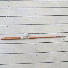 New listing Vintage Bamboo bottom half fishing rod/Atlas raised pillar fishing reel (l10501)