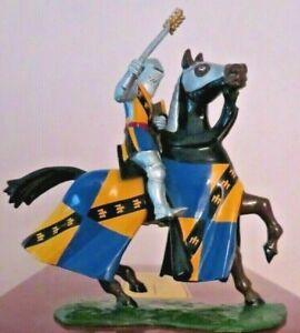 Britains Knights of Agincourt metal  Sir John Falstaffe Mounted