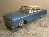 Vintage Tin Friction Ford Falcon Car Japan