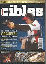CIBLES N°371 COLT / BROWNING MODELE BUCK MARK 22LR / VIGNERON M1 ET M2 / SHARPS