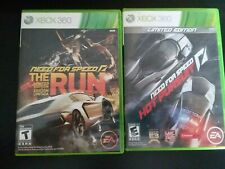 Need for Speed Xbox 360 LOT: The Run & Hot Pursuit *FREE SHIPPING*