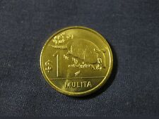 Uruguay 2012 1 Peso Armadillo coin  nice Uncirculated coin animal