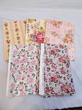 5 - 1/2 YD ROSE PRINTS (2 1/2 YDS) 100% Cotton Quilt Sewing Bundle Fabric Lot