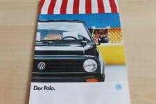 115987) VW Polo Prospekt 01/1988