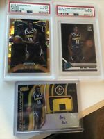 Bol Bol Rookie Card Lot Nuggets PSA 10, Auto Patch, Prizm, Optic. Invest!
