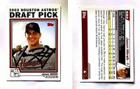 Jason Hirsh Signed 2004 Topps #682 Card Houston Astros Auto Autograph