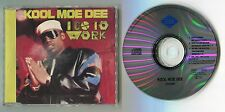 Kool Moe Dee cd-maxi I GO TO WORK Extended Remix © 1989 Jive 4-track ZD43206