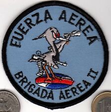 Early Uruguay FUERZA AEREA BRIGADA AEREA II AIR FORCE Squadron Patch