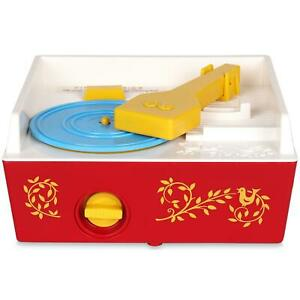 Fisher Price Classic Record Player, Music Box, 5 Playable Records - 18 Months +