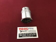 "Snap-on LDH482 3/4""Drive 1-1/2"" 12PT Chrome Shallow Socket USA!"