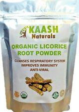 LICORICE POWDER  Glycyrrhiza Glabra 100% Organic Raw USDA