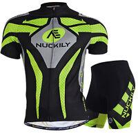 Bike Road Men Clothing MTB Short Sleeve Jersey Shorts Set Bicycle Sportwear Suit