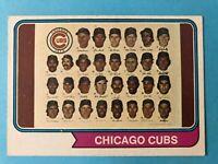 1974 Topps Baseball Team Cards - Pick your Favorite