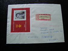ALLEMAGNE RDA lettre 1976 - timbre stamp germany (cy1)