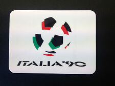 Retro Football Sticker - World Cup Italia 90 Logo MEDIUM (116x86mm)
