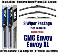 3pk Wipers Front & Rear - NeoForm - 2002-2003 GMC Envoy/Envoy XL - 16220x2/30160