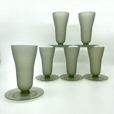 More details for 6 vintage tupperware champagne flutes cocktail glasses 754-18