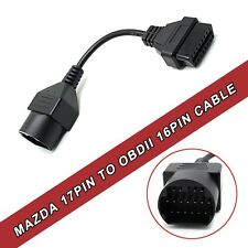 NEW Mazda 17pin to 16pin Extension Cable OBD2 Adapter Female Connector Cable