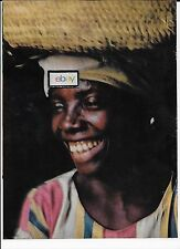 EASTERN AIRLINES 1969 GO WHERE THE SMILES IS CATCHING 2 PG CARIBBEAN LADY AD