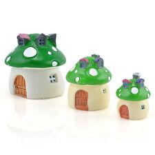 New listing Miniature Fairy Garden Ornament Decor Pot Craft Accessories Dollhouse Green 'M'