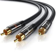CSL-Computer Primewire - 2m HQ Y Subwoofer Câble   RCA Audio Câble   Câble 1 x R