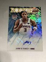 2020-21 NBA HOOPS Jahmius Ramsey Rookie Ink RC Auto Sacramento Kings 🔥🔥🔥🔥