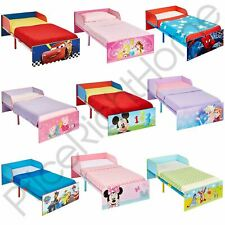 KIDS CHARACTER TODDLER BEDS - BOYS GIRLS BEDROOM DISNEY