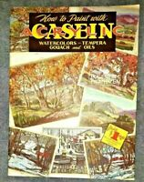 Walter T Foster How to Paint with Acrylic CASEIN, OIls #53 by Eugene M Frandzen