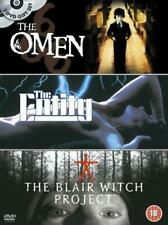 The Omen/the Entity/the Blair Witch Project [DVD], Good DVD, ,