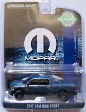 2017 Dodge Ram 1500 Sport MOPAR   grau metallic  /  Greenlight 1:64