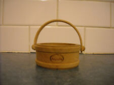 VINTAGE MOVENPICK WOODEN PAIL WISHING WELL SOUVENIR ADVERTISING CHOCOLATE TRUFFL