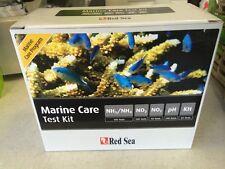 Red Sea Marine Care Test Kit. Ammonia,Nitrite,Nitrate, ph, KH FREEPOST UK