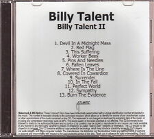 billy talent limited edition cd