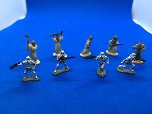 STAR WARS ACTION FLEET / MICRO MACHINES, STORMTROOPERS, TUSKEN RAIDERS, OWEN M2