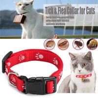 Anti-pulci & zecche & zanzare cinturino regolabile collare per cani gatti !