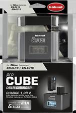 Hähnel ProCube Ladegerät für Nikon EN-EL14 / EN-EL15