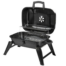 Charcoal Grill Iron Portable Compact BBQ Picnic Camping Garden Party Festival