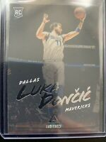 LUKA DONCIC 2018-19 PANINI CHRONICLES LUMINANCE INSERT ROOKIE RC