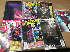 Marvel Magneto Lot of 7 Comics  One Shot, Vol 1: 1 2 3 4, testament, 0