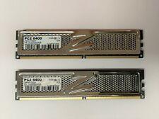 4GB OCZ Platinum Edition DDR2 Ram kit (2X2GB) 800MHz PC2-6400 (OCZ2P8004GK)