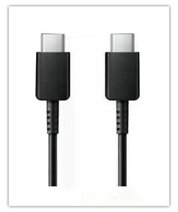 SAMSUNG NOTE 20 5G S20 ULTRA SUPER FAST CHARGER CABLE USB TYPE C TO C UK New
