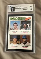 Lee Mazzilli Card Collection With Graded Rookie