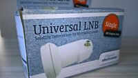 Universal 0.1dB Single LNB satellite Microelectronic HDTV Ready 10,7-12,75 GHz