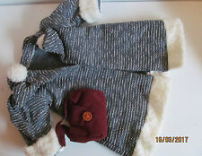 "ALBERON DOLLS Robe Manteau Sac Chaussures Jusqu'à 18"" doll teddy bear jouet doux."